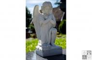 Engel aus Carrara Marmor